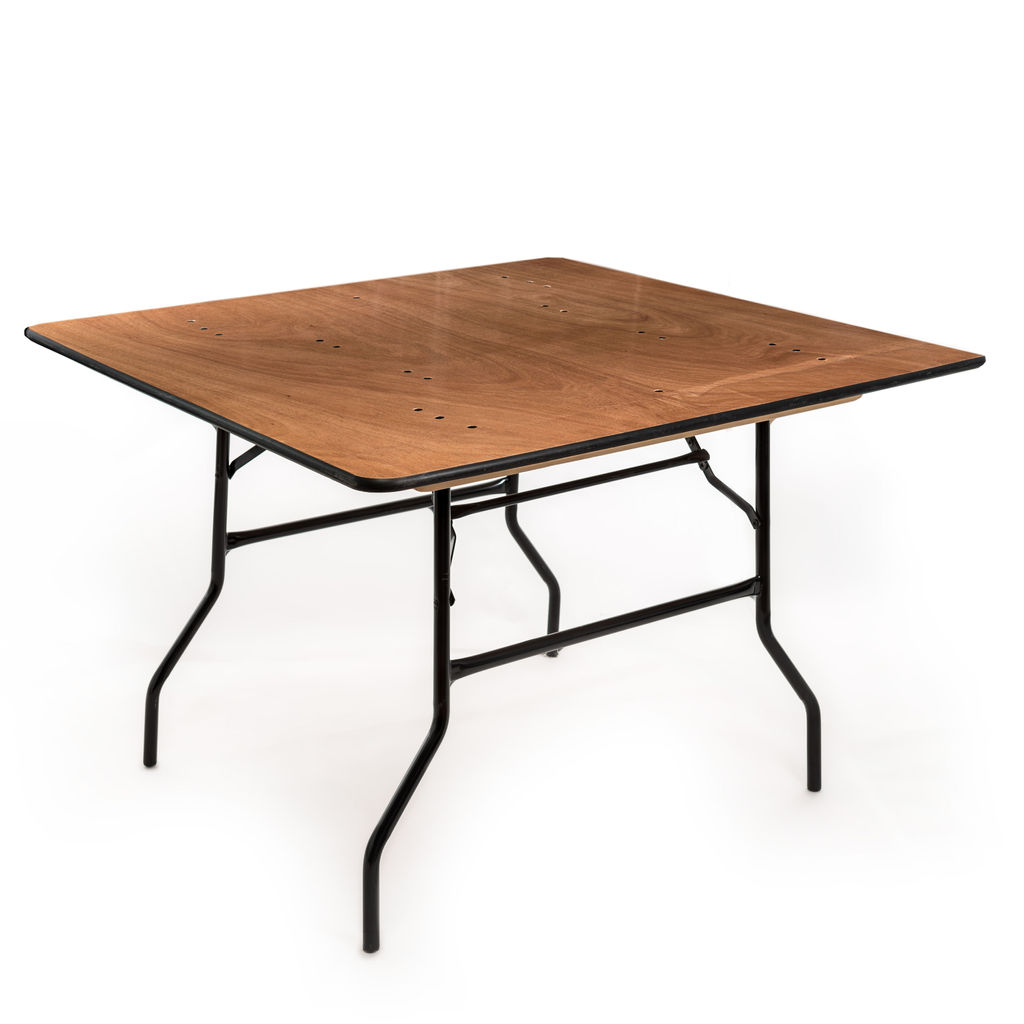 48 X48 Square Folding Table The Event Rental Co
